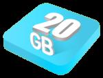 Plan E แพคเกจ 20GB ไม่จำกัดโดเมน