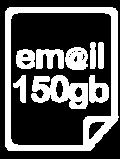 Email Hosting 150GB